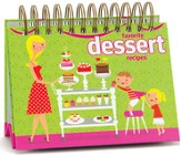 Desserts Easel Recipe Book