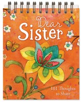Dear Sister Easel Book