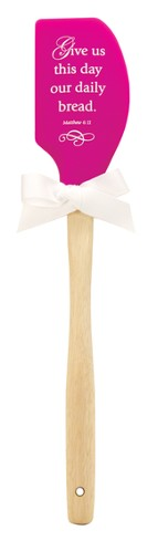 Give Us This Day Our Daily Bread Silicone Spatula