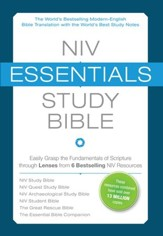 NIV Essentials Study Bible, Hardcover, Jacketed Printed