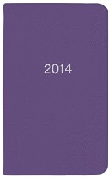 2014 Pocket Planner, Purple