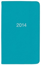 2014 Pocket Planner, Blue