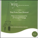 25 Gospel Songs, Accompaniment CD