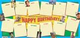 Birthday (Kids) Chart - Tubed
