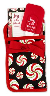Joy To the World Potholder Gift Set