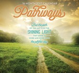 Pathways, 16-Month 2017 Wall Calendar