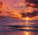 Sunsets, 16-Month 2017 Wall Calendar