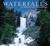 Waterfalls, 16-Month 2017 Wall Calendar