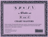 Spell to Write and Read Chart Pack