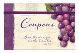 Vineyard Coupon Organizer, I Am the Vine, You Are the Branches