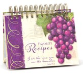Vineyard Easel Recipe Book, I Am the Vine, You Are the Branches, Blank Recipe Cards, pack of 48