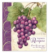 Vineyard Recipe Binder, I Am the Vine, You Are the Branches