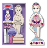 Ballerina Doll, Decorate Your Own