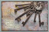 Prayer Unlocks the Doors of Heaven, Magnetic Board