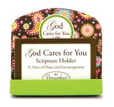 God Cares For You Scripture Card Holder