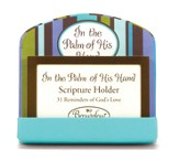 Palm Of His Hand Scripture Card Holder