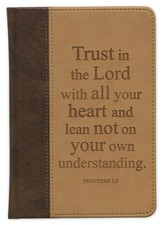 Trust In the Lord With All Your Heart Journal