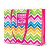 Delight in the Lord Fashion Tote Bag