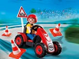 PLAYMOBIL ® Boy with Racing Cart Accessory