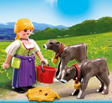 PLAYMOBIL ® Country Woman with Calves