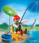 PLAYMOBIL ® Fisherman with Equipment