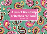 Sweet Friendship, Notecards with Envelopes