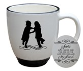 God Chose You For My Sister Mug