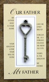 Our Father Pocket Key