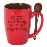 Always Know That You Are Loved Mug with Spoon