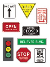 Christian Signs Magnet Set
