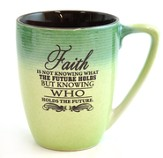 Faith Is Not Knowing What the Future Holds Mug
