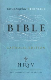 NRSV Go-Anywhere Thinline Bible, Catholic Edition  - Slightly Imperfect