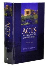 Acts: An Exegetical Commentary, Volume 2, 3:1-14:28