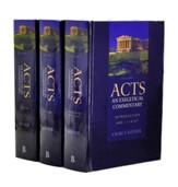 Acts: An Exegetical Commentary, Volumes 1-3