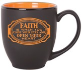 Faith Is When You Close Your Eyes Mug