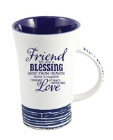 Friend, You Are A Blessing Mug, Blue