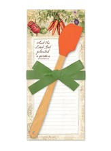 And the Lord God Planted A Garden Notepad and Spatula Set