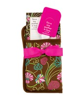 Serve One Another Potholder Gift Set, Brown Floral