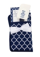 Serve One Another Potholder Gift Set, Navy