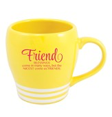 Friend, Blessings Come In Many Ways Mug, Yellow