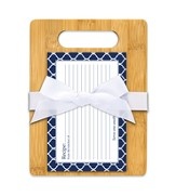 Serve One Another Cutting Board Gift Set, Navy