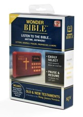 Wonder Bible - The Talking King James Bible - Audio Player