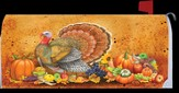 Turkey Give Thanks Mailbox Cover