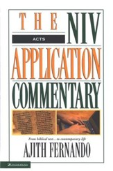 Acts: NIV Application Commentary [NIVAC]