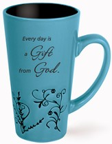 Every Day Is A Gift Mug, Blue