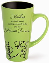 Mothers, Holding Hands Mug, Green