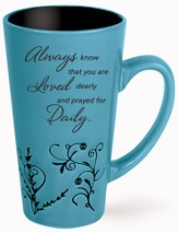 Always Know That You Are Loved Mug, Blue