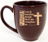 Faith, I Can Do Mug