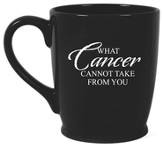 What Cancer Cannot Do Mug, Black