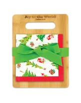 Season of Joy, Cutting Board and Napkin Set
